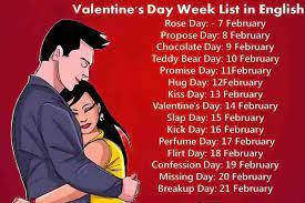 valentine rose day kiss day hug day