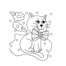 Leuk Voor Kids Katten Kleurplaten