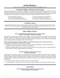 Sample Technical Resume Sample Of Job Resume Application And ...