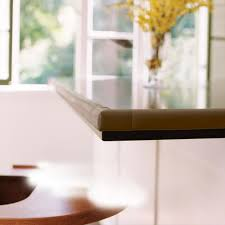 table edge guard. prince lionheart table edge guard with four corners (chocolate) square l