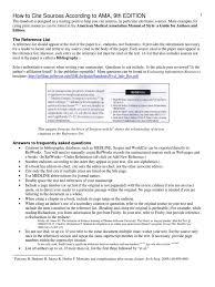 Citation Ama Style Citation Publishing