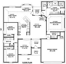 Imposing Amazing 4 Bedroom 2 Bath House Plans Charming Design 4 Bedroom 3 Bath  Floor Plans 5 Bedroom House Plans