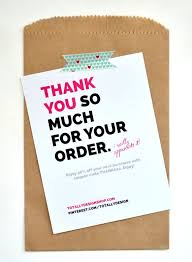 Thank You For Shopping With Us Note Acepeople Co