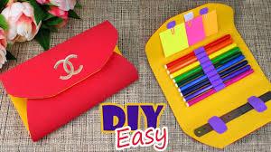 diy stylish organizer bag tutorial pencil case idea