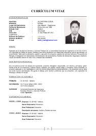 Cool Curriculum Vitae Format Filetype Doc Gallery Example Resume
