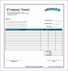 Free Business Invoices 100 Templates for Invoices Free Excel ExcelTemplates ExcelTemplates 37