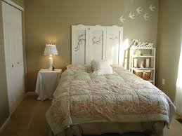 chic bedroom furniture. The Dreaming Bedroom Styled With Beige Wall Paint And White Furniture Chic