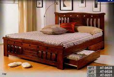wooden beds design. Simple Beds Queen Bed Frames  AT 9528 Solid Wood Queen Bed Frame With Drawers FOR SALE  From Kuala  Inside Wooden Beds Design