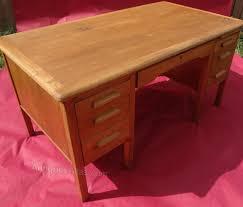 Office desk vintage Executive Antiques Atlas Antiques Atlas Vintage Oak Office Desk