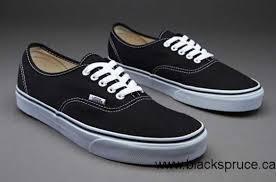 vans shoes for boys 2016. canada 2016 vans authentic - mens shoes black for boys t