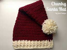 Crochet Santa Hat Pattern Magnificent Decorating