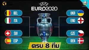 สรุป 8 ทีมสุดท้าย ยูโร 2020 พร้อม โปรแกรมการแข่งขัน | Thaiger ข่าวไทย