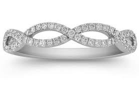 infinity diamond wedding band. infinity diamond wedding band in white gold o