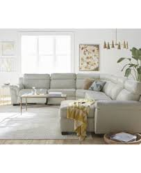 leather sectional couches. Julius Leather Power Reclining Sectional Sofa Collection, Created For Macy\u0027s - Furniture Couches A