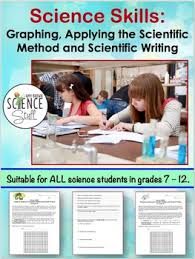 Graphing Scientific Method And Scientific Writing By Amy Brown Science