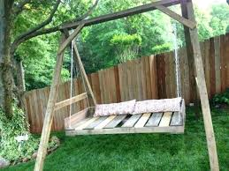 pallet bed swing pallet swing ideas pallets bed outdoor pallet swing instructions porch plans chair bed