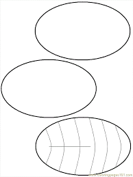 Small Picture B Snake Ovals 2 Coloring Page Free Shapes Coloring Pages
