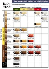 Hair Color Conversion Chart Sbiroregon Org