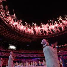Tokyo Olympic opening ceremony: toil ...
