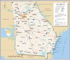 download map of georgia usa  major tourist attractions maps