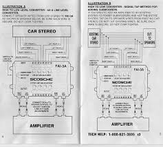 scosche fai 3a wiring diagram schematics and wiring diagrams aftermarket cd player to bose speakers aro forums at z28 factory ilration scosche wiring harness diagram lifier