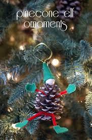 pinecone elf ornament 101 days of