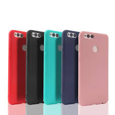 <b>Soft TPU Candy Color</b> Phone Case For Huawei Honor 8 8C 8X 7A ...