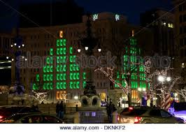 tree lighting indianapolis. The Soldier And Sailor Monument In Downtown Indianapolis, Indiana Dressed Christmas Lights For Tree Lighting Indianapolis