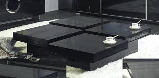 black coffee table set full size of modern tables living room pretty large oval black coffee table