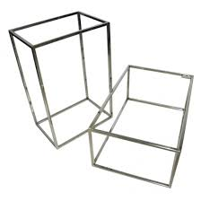 Picture Frame Box Stainless Steel Metal Box Frame For Clothing Wholesale