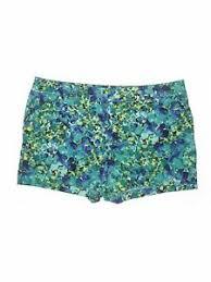 Details About Apt 9 Women Blue Khaki Shorts 20 Plus