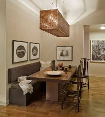 interior spot lighting delectable pleasant kitchen track. Warm Interior Design Idea Of Classy Dining Room Themed Feat Oak Wood Table And Pleasant Brown Spot Lighting Delectable Kitchen Track F