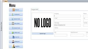 Ms Invoice Templates Access Invoice Template Free Invoice Example