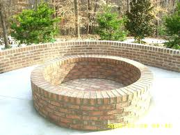 unique ideas fire brick for pit about round building design