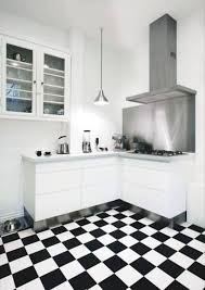 Black White Kitchen Tiles Kitchen Design Black White And Red Kitchen Design Ideas