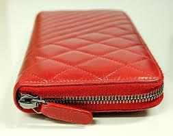 chanel zipper wallet. chanel zip around wallet cc logo red quilted chevron leather organizer zipper l