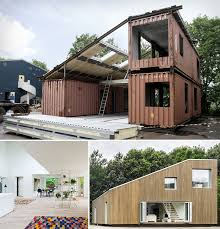 Home Out Of Shipping Containers Delectable House Made Out Old Container Shipping House