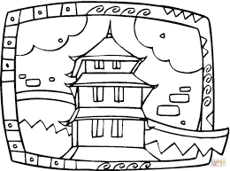 Small Picture Buddhist Temple coloring page Free Printable Coloring Pages