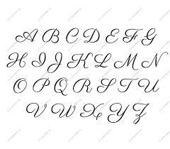 Custom Letter Art Template Amazing Free Printable Alphabet Stencil Letters Template Art Crafts