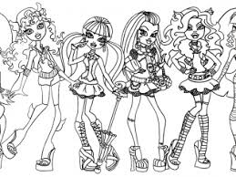 Small Picture monster high coloring pages pdf abbey bominable from monster high