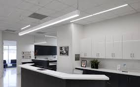 lighting design office. Linear Office Lighting Design