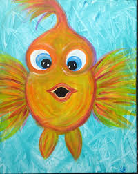 paint night for kids easy acrylic painting