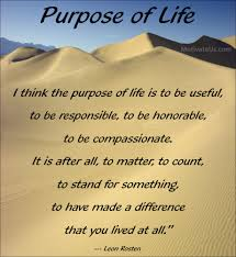 Purpose Of Life Quotes Best What Is Your Purpose In Life Motivational Quote Ethical
