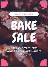 bake sale flyer templates customize 354 bake sale flyer templates online canva