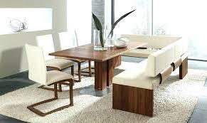 l shaped dining table bench u walnut boat
