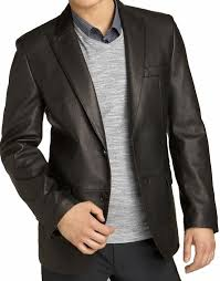 gorgia men leather blazers