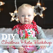 Christmas Picture Backdrop Ideas Make Diy Christmas Photo Backdrops With Twinkle Lights The Diy Mommy