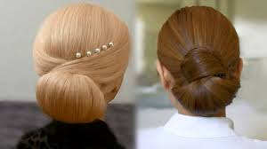 Hair Style Simple easy and quick hair bun tutorials video dailymotion 6835 by wearticles.com