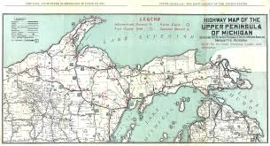 michigan upper peninsula map  my blog