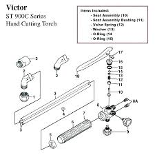 Victor Acetylene Cutting Tip Chart Victor Oxygen Regulator Repair Kit 30dayjournal Co